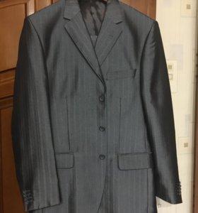 Костюм пиджак+брюки на рост 182, р-р 52