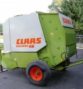 Пресс подборщик Claas rollant 46 рулонный