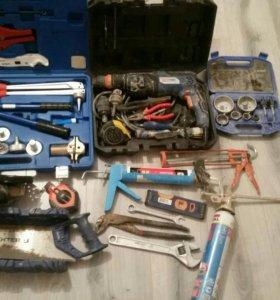 Инструмент для ремонта квартира и дом есть