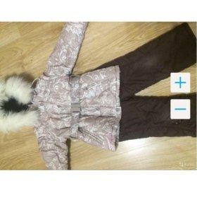Тёплый зимний костюм фирмы Кико.