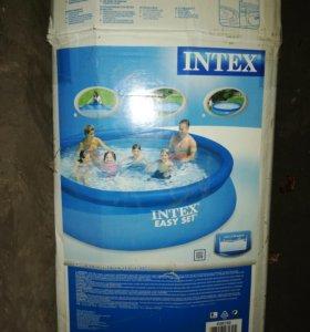 Бассейн INTEX размер 3,66, высота 76
