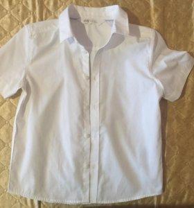 Б/у рубашка на мальчика 116 рост H&M