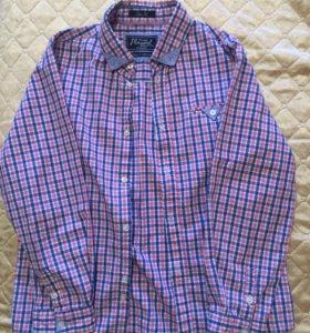 Б/у рубашка на мальчика 122рост Mayoral