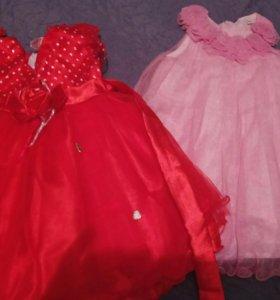 2пакета вещей для девочки до 2х лет