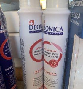 Новый дезодорант женский deonica