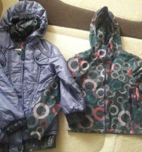 Куртка - плащ весна-осень. Рост.128