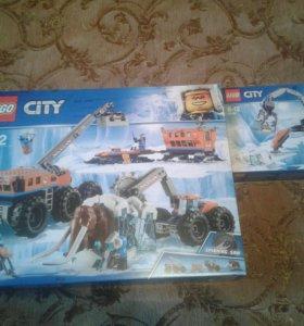 Lego City 60195,60192Передвижная арктическая база