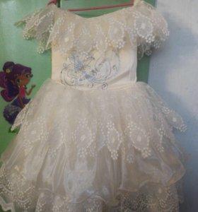 Праздничное платье на рост от 86 до 104