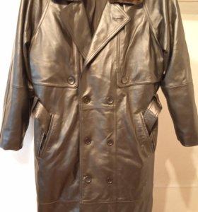 Продается: Пальто мужское демисезонное (кожа)
