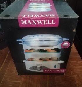 Пароварка maxwell новая