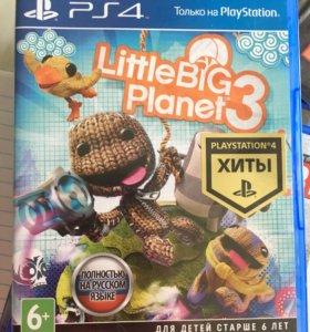 Игры на ps4. Little big planet и другие