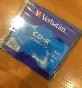Verbatim CD чистые, новые