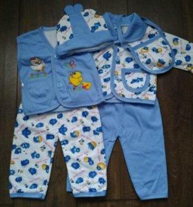 Комплект одежды на мальчика от 3 месяцев