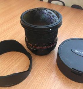 Samyang 8mm f/3.5 AS IF UMC Fish-eye CS II Minolta