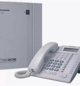 Мини атс Панасоник (Panasonic) TEB 308