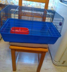 Клетка для морской свинки или кролика.