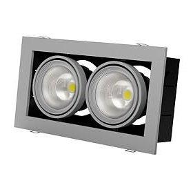 LED светильник мощностью 2Х30 Вт