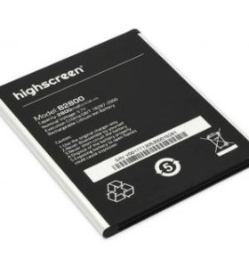 Аккумуляторы Highscreen / Wilefox / Dexp
