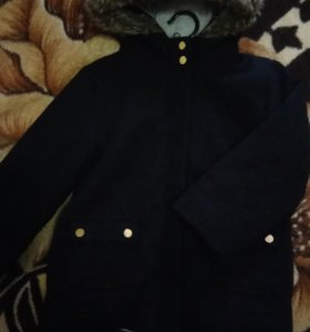 Пальто теплое на 5 лет