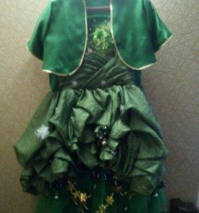 Новогодние платье Ёлочки