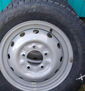 Зимние колеса на Ниву r 16