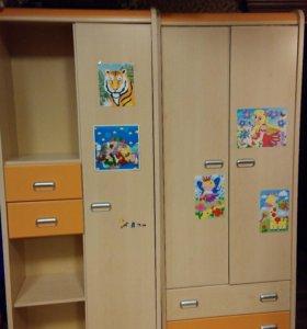 Детская мебель 5 предметов бу + подарок
