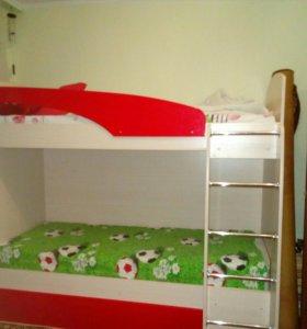 Кровать (двухъярусная)