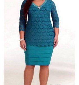 Платье Белорусское новое, размер 56