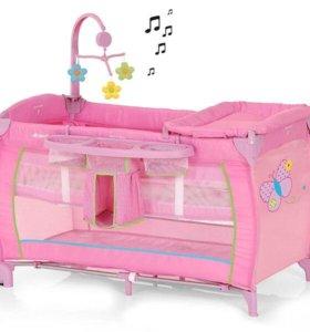 Кровать-манеж Hauck baby centre