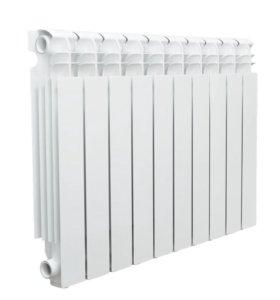 Радиатор секционный алюминий aquaprom 500\10