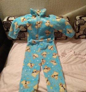 Домашний костюм пижама очень мягкий