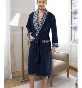 Мужской махровый халат. Новый!