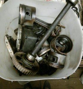 Двигатель VW 2Е остатки