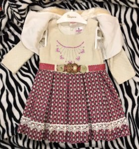 Платье с пиджачком для девочки