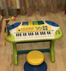 Электронное детское пианино-синтезатор Weina
