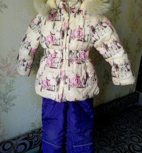 Зимний костюм (3-4 года)