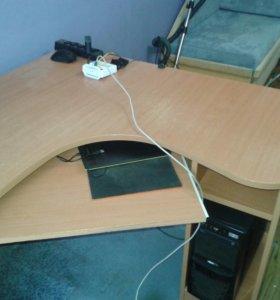 Стол офисный, компьюторный, школьный