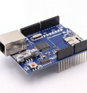 Ethernet Shield W5100 для Arduino / Ардуино