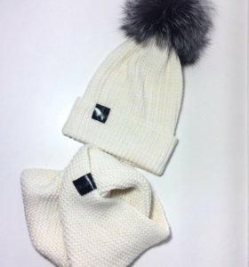 Вязанный комплект из 100% merino wool
