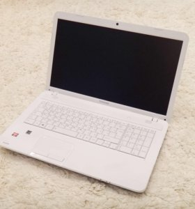 17,3 дюйма, игровой ноутбук Toshiba C870 как новый