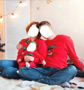 Семейный новогодний комплект