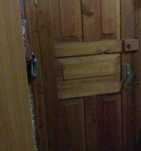 Входные двери 2 штуки, двойная дверь