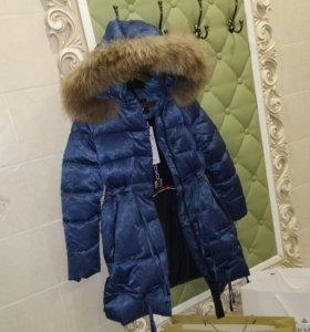 Парки/пальто зимние на девочек