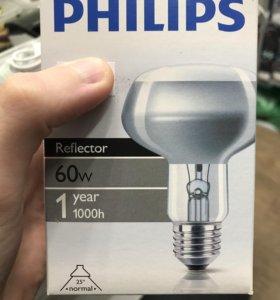 Лампа зеркальная Philips R80 60 Вт Е27