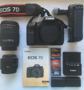 Фотоаппарат Canon 7d