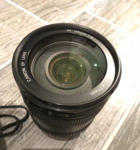 Продам объектив canon 24-105
