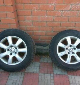 Два колеса+два диска