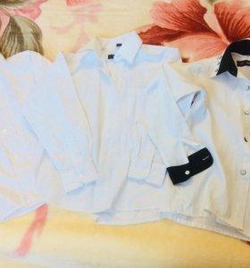 Рубашки 6-8 лет