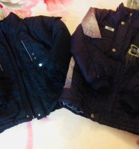 Куртки зима 5-7 лет