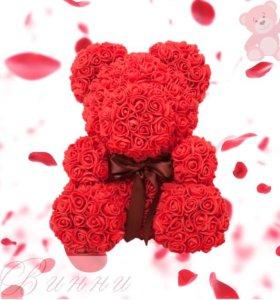 Мишка из роз Богородск